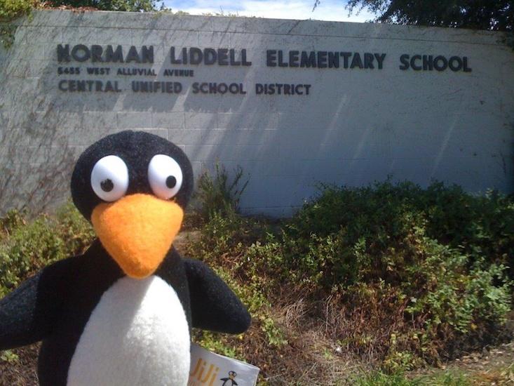 Does a Cartoon Penguin Make Math Education Great Again?