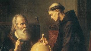 Galileo globe astronomy