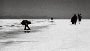 Lake Urmia salt beach thumb