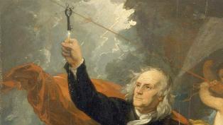Benjamin Franklin kite key thumb