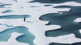 ICESCAPE pond