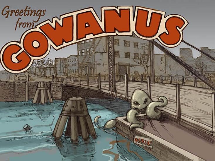 "In the ""Black Mayonnaise"" of Brooklyn's Gowanus Canal, Alien Life Is Being Born"